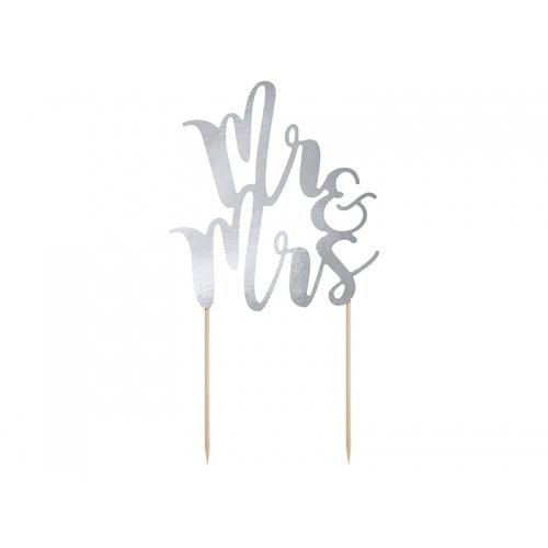 Topper na tort - Mr&Mrs