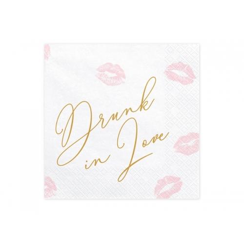 Serwetki papierowe Drunk in Love (20 sztuk)