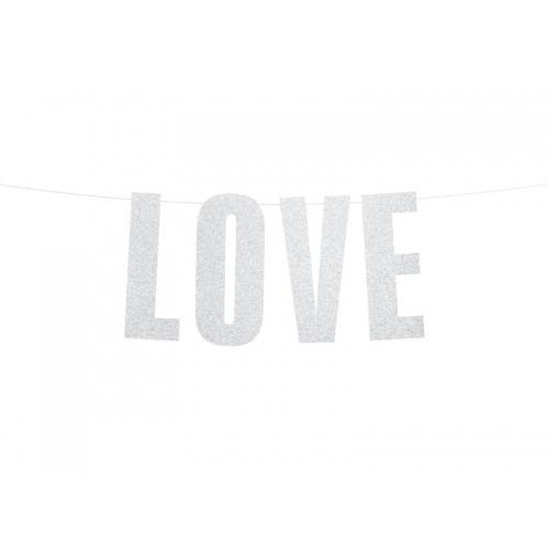 "Baner ""Love"""