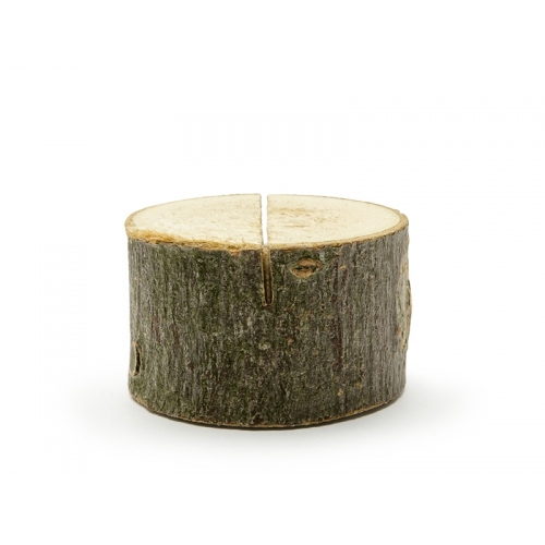 Drewniany stojak na wizytówki/winietki (6 sztuk)