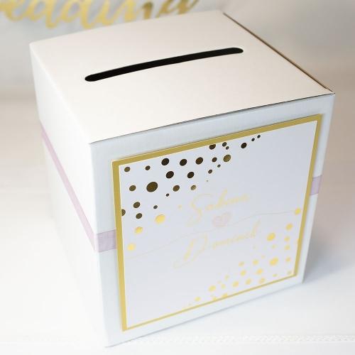Pudełko na koperty - Shine serduszko