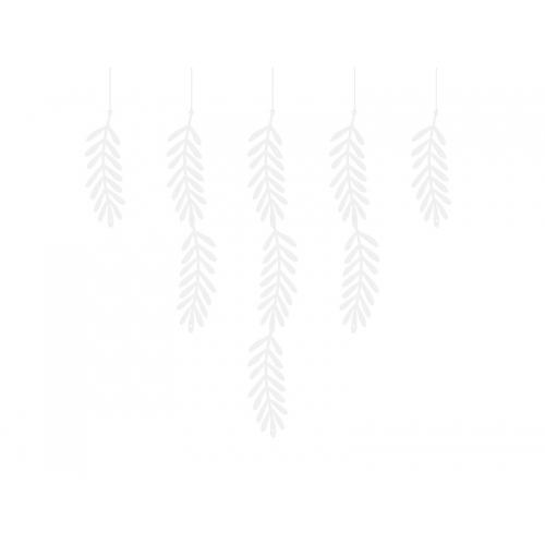 Girlanda - białe gałązki
