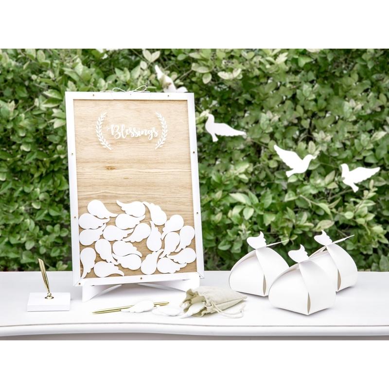 Biała księga drewniana Blessings