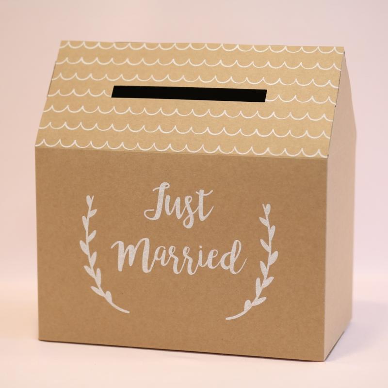 Pudełko na koperty - Just Married