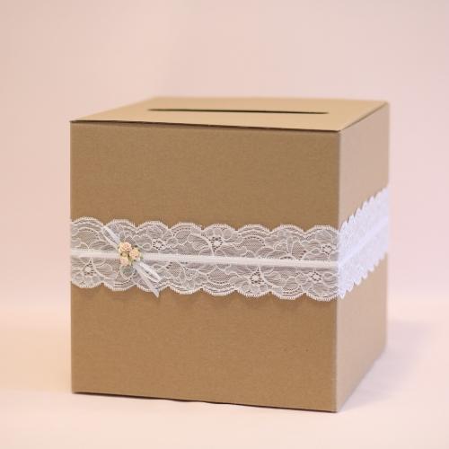 Pudełko na telegramy i pieniądze - rustykalne