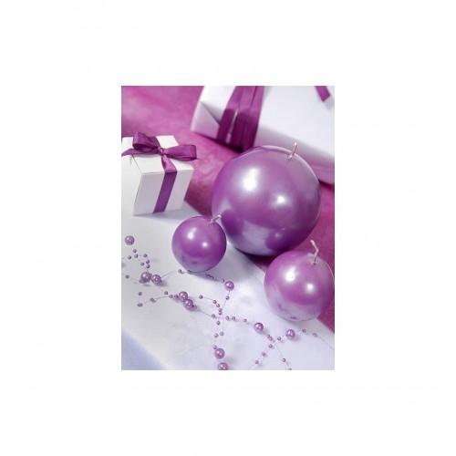 Girlanda perłowa - liliowy (5 sztuk)