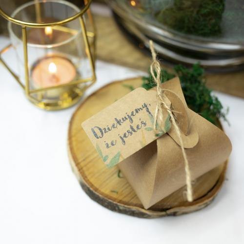 Pudełeczka dla gości - Rustic Green (10 sztuk)