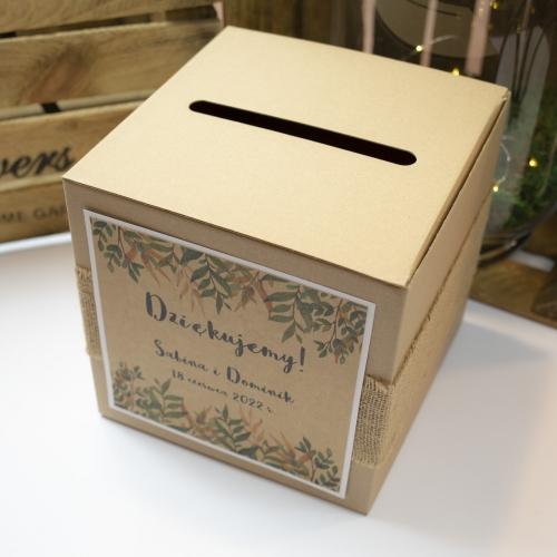 Pudełko na koperty - Rustic Green