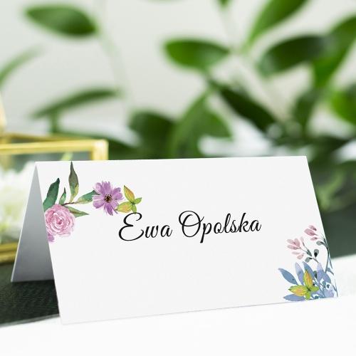 Winietka weselna - Wiosenne kwiaty