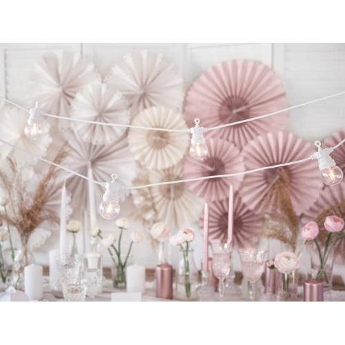 Lampki dekoracyjne led - białe - 5 metrów