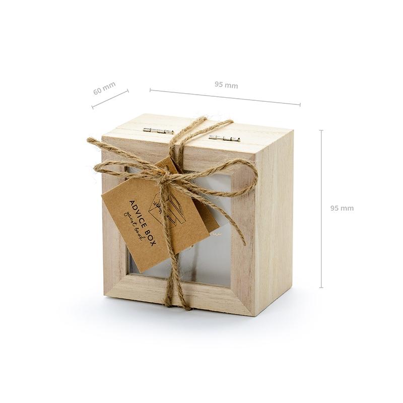 Księga gości - pudełko na porady - 1 sztuka