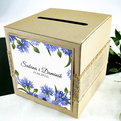 Pudełko na koperty - Chabry