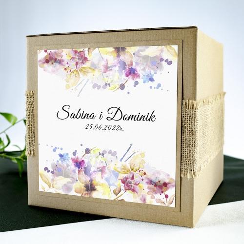 Pudełko na koperty - Pastele