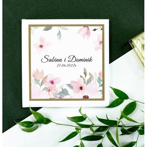 Księga gości - Delikatne róże