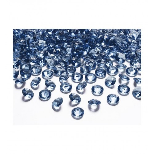 Diamentowe konfetti - ciemnoniebieskie (100 sztuk)