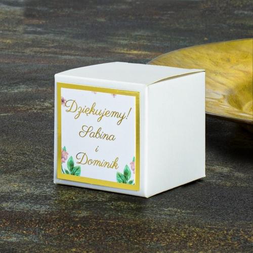 Pudełeczka dla gości - Rajski ptak (10 sztuk)