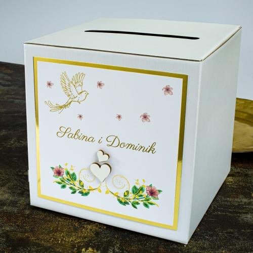 Pudełko na koperty - Rajski ptak