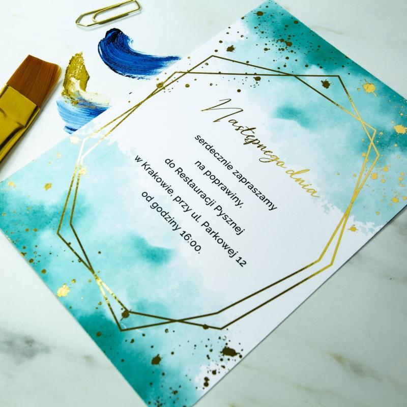Zaproszenia ślubne - Colorful I