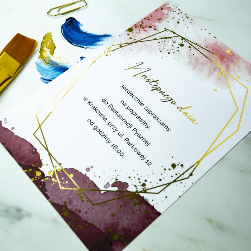 Zaproszenia ślubne - Colorful II
