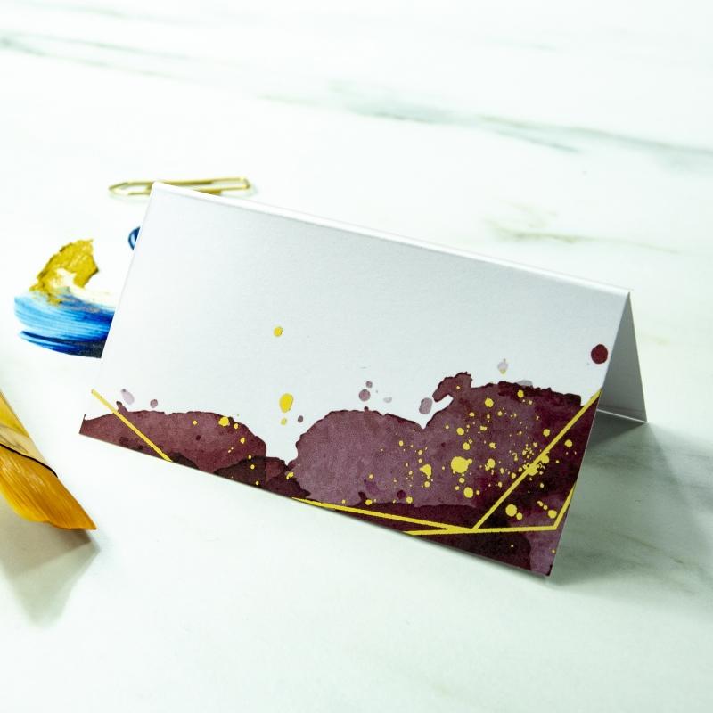 Winietki ślubne - Colorful II