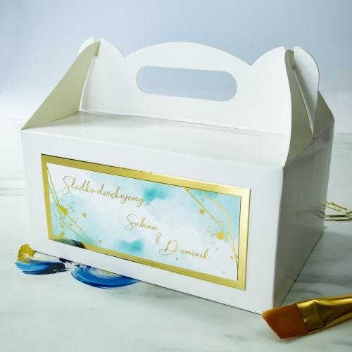 Duże pudełko na ciasto - Colorful I