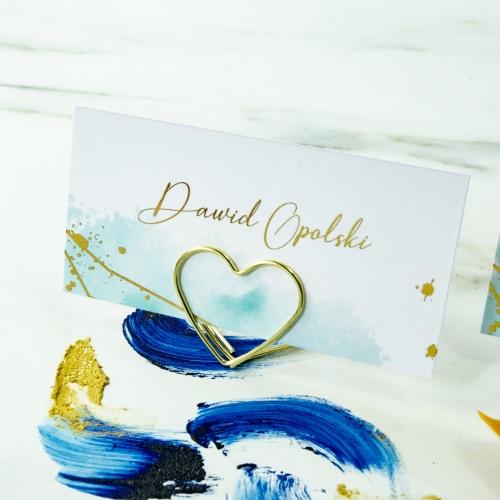Winietki ślubne - Colorful I - na stojaku
