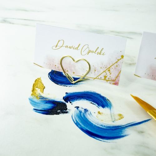 Winietki ślubne - Colorful II - na stojaku