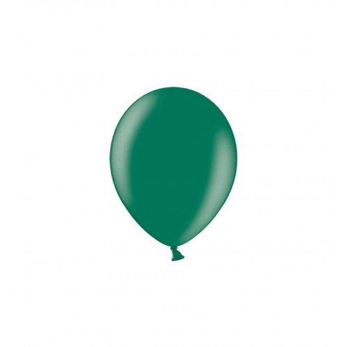 Szmaragdowe, metaliczne balony (100 sztuk)