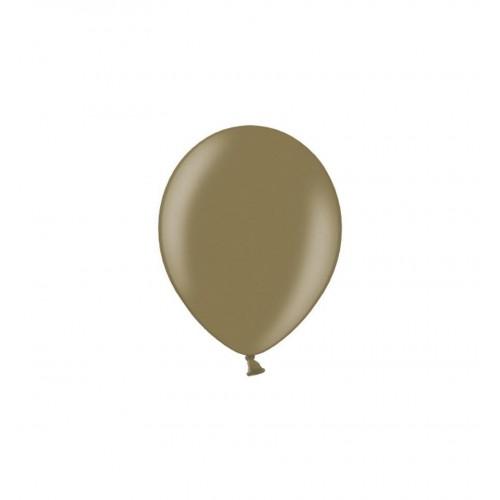 Migdałowe, metaliczne balony (100 sztuk)