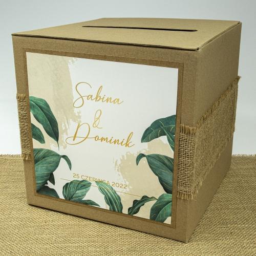 Pudełko na koperty - EKO - Tropical I