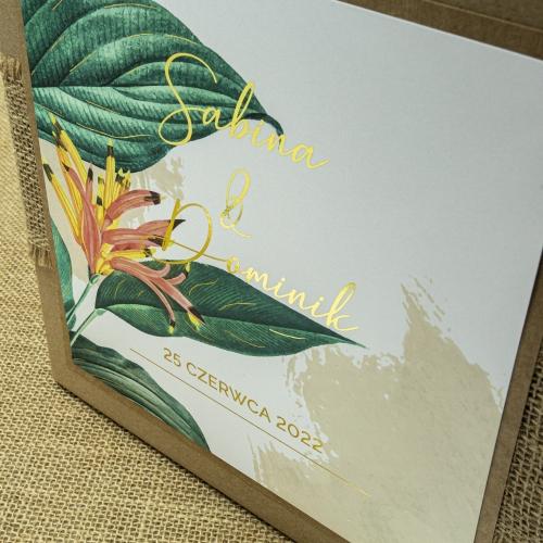 Pudełko na koperty - EKO - Tropical III