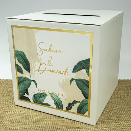 Pudełko na koperty - Tropical I