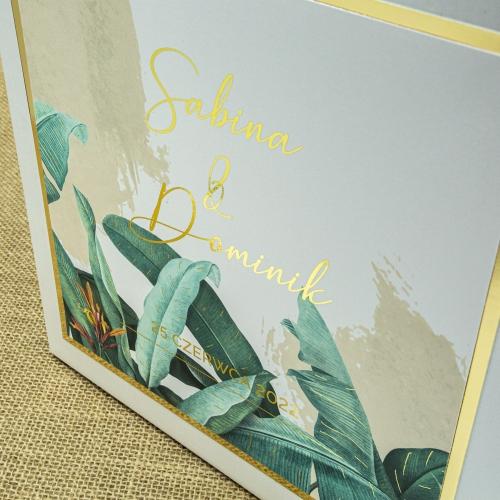 Pudełko na koperty - Tropical II