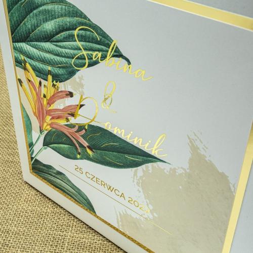 Pudełko na koperty - Tropical III
