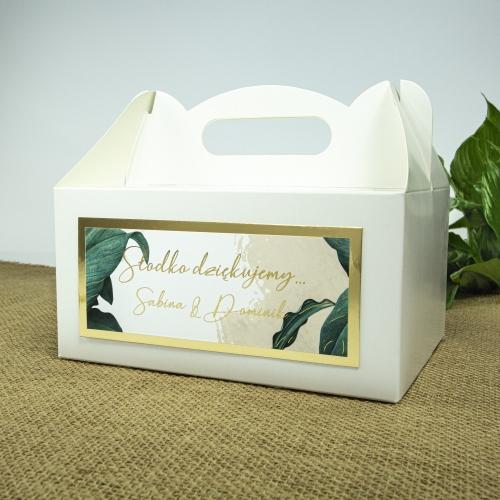 Duże pudełko na ciasto - Tropical I