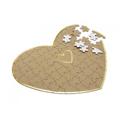 Księga gości - Serce - puzzle