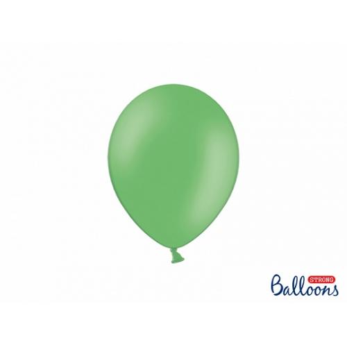 Jasno zielone, pastelowe balony (100 sztuk)