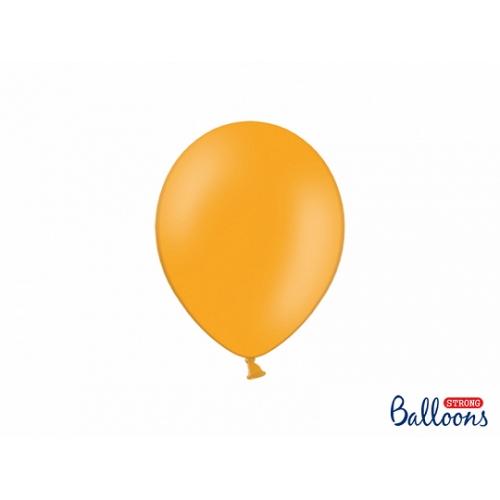 Pomarańczowe, pastelowe balony (100 sztuk)