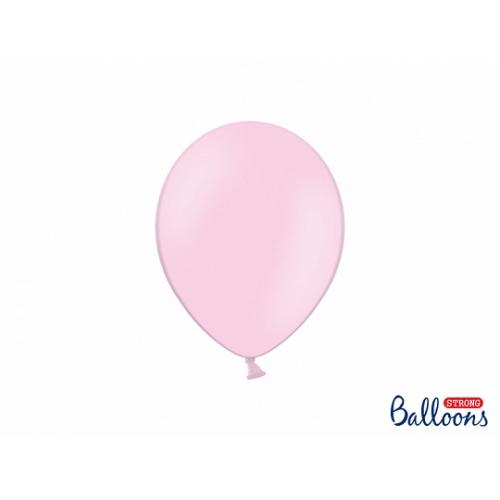 Jasno różowe, pastelowe balony (100 sztuk)