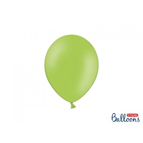 Zielone jabłuszko, pastelowe balony (100 sztuk)