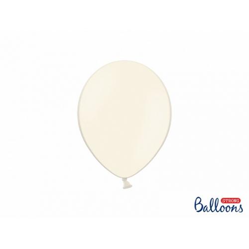 Jasno kremowe, pastelowe balony (100 sztuk)