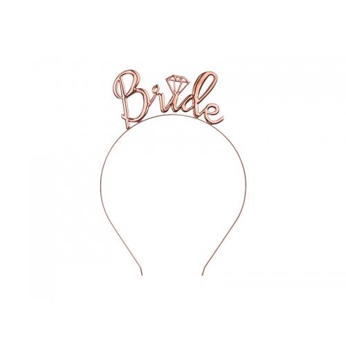 Opaska z napisem Bride
