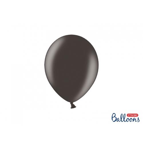 Czarne, metaliczne balony (100 sztuk)