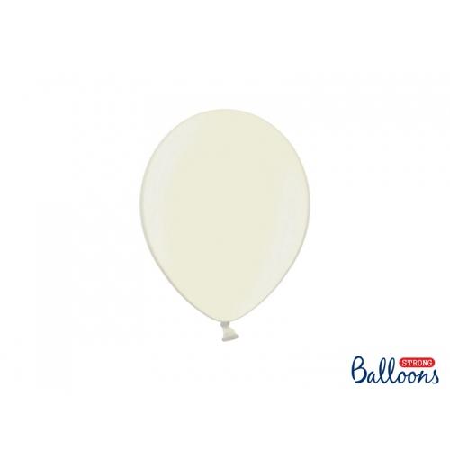 Kolor jasno kremowy (Ivory), metaliczne balony (100 sztuk)