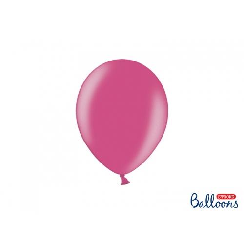Fuksjowe, metaliczne balony (100 sztuk)