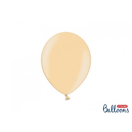Brzoskwiniowe, metaliczne balony (100 sztuk)