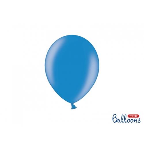 Granatowe, metaliczne balony (100 sztuk)