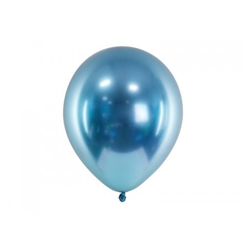 Niebieskie, balony glossy (100 sztuk)
