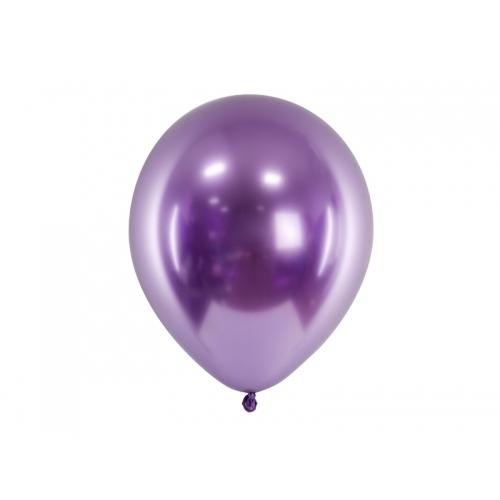 Fioletowe, balony glossy (100 sztuk)