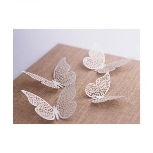 Papierowe motylki (10 sztuk)
